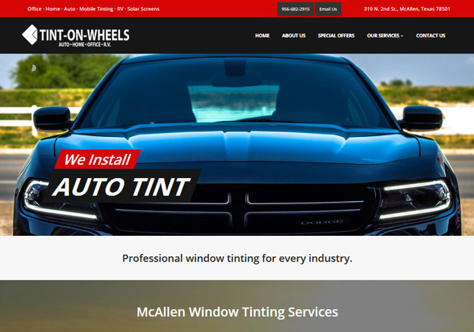 McAllen Auto Website Design